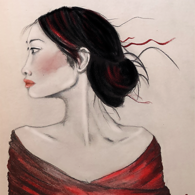 Mujer Japonesa – A3
