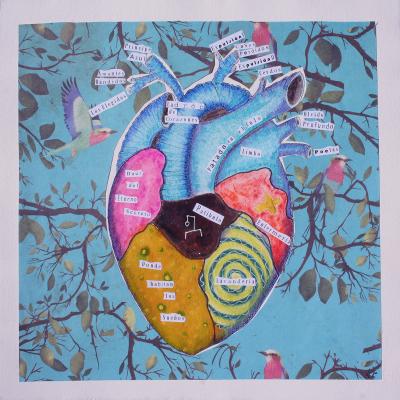 Ladrón de corazones – postal